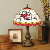 Kansas City Chiefs NFL Stained Glass Table Lamp