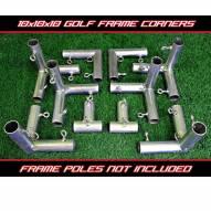 Cimarron 10x10x10 Golf Frame Corner Kit