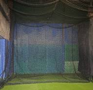 Cimarron 12x14 #84 Twisted Poly Baseball Batting Cage Backdrop