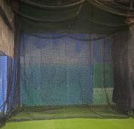 Cimarron 12x14 #84 Twisted Poly Baseball Batting Cage Backdrop