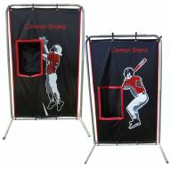 Cimarron 2-Sport Catcher Vinyl Backstop with Frame