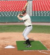 Cimarron Nylon Baseball/Softball Pitching Stance Mat