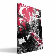 "Cincinnati Bearcats 16"" x 24"" Spirit Canvas Print"