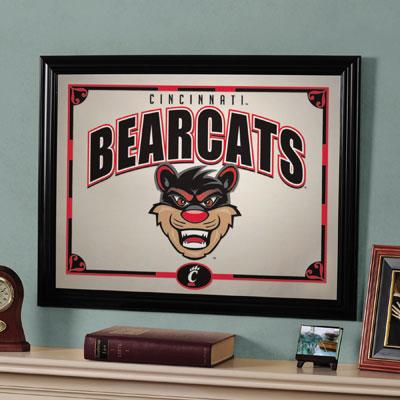 "Cincinnati Bearcats 23"" x 18"" Mirror"