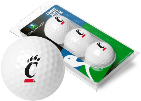 Cincinnati Bearcats 3 Golf Ball Sleeve