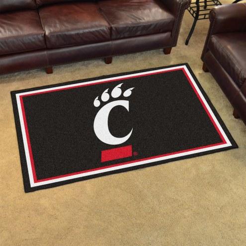 Cincinnati Bearcats 4' x 6' Area Rug