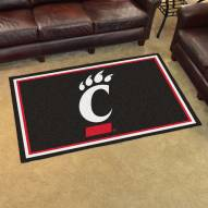 Cincinnati Bearcats 4' x 6' Area Rug