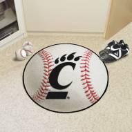 Cincinnati Bearcats Baseball Rug