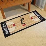 Cincinnati Bearcats Basketball Court Runner Rug