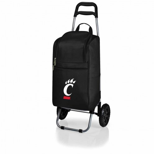 Cincinnati Bearcats Black Cart Cooler