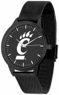 Cincinnati Bearcats Black Dial Mesh Statement Watch