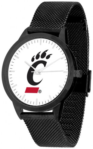Cincinnati Bearcats Black Mesh Statement Watch