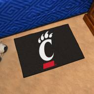 Cincinnati Bearcats Black Starter Rug