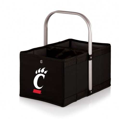 Cincinnati Bearcats Black Urban Picnic Basket