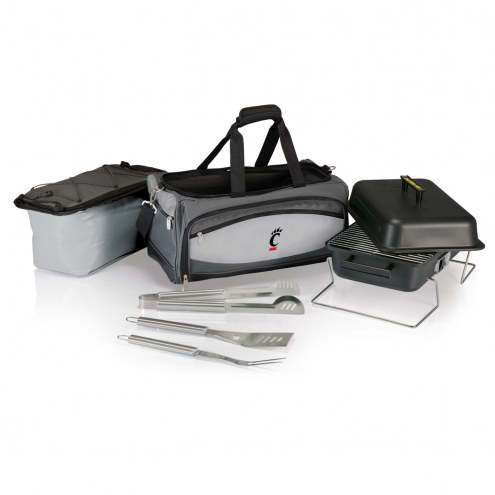 Cincinnati Bearcats Buccaneer Grill, Cooler and BBQ Set