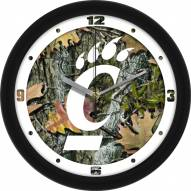Cincinnati Bearcats Camo Wall Clock