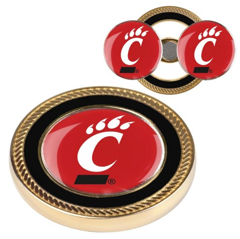 Cincinnati Bearcats Challenge Coin with 2 Ball Markers