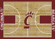 Cincinnati Bearcats College Home Court Area Rug