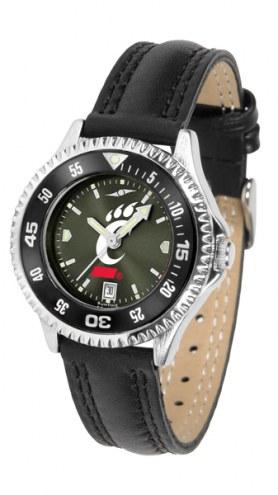 Cincinnati Bearcats Competitor AnoChrome Women's Watch - Color Bezel