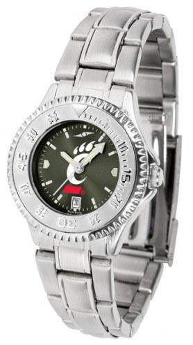 Cincinnati Bearcats Competitor Steel AnoChrome Women's Watch
