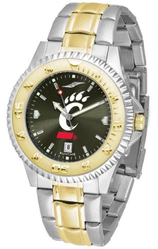 Cincinnati Bearcats Competitor Two-Tone AnoChrome Men's Watch