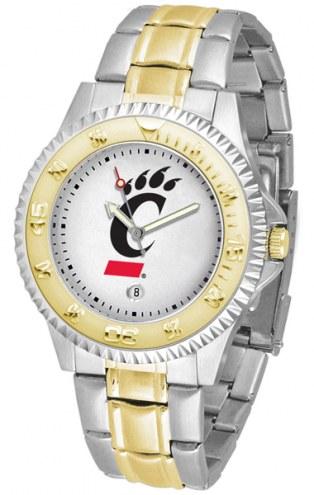 Cincinnati Bearcats Competitor Two-Tone Men's Watch