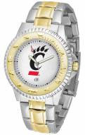 Cincinnati Bearcats Competitor Two-Tone Men's Watch