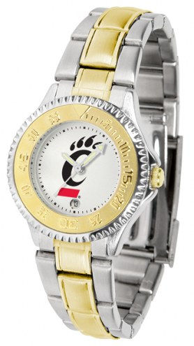 Cincinnati Bearcats Competitor Two-Tone Women's Watch
