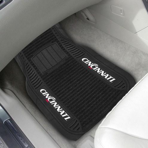 Cincinnati Bearcats Deluxe Car Floor Mat Set