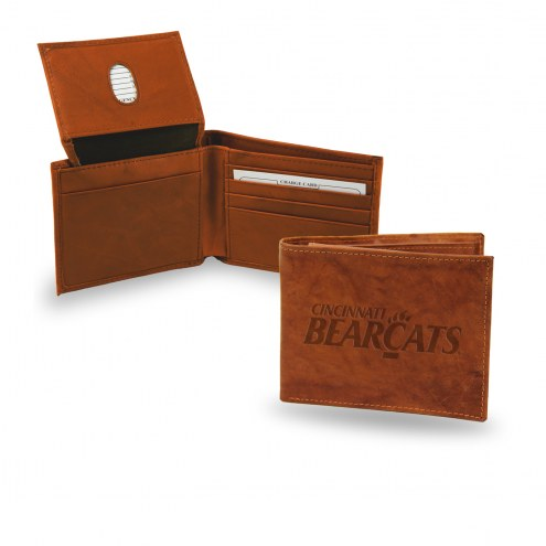 Cincinnati Bearcats Embossed Bi-Fold Wallet