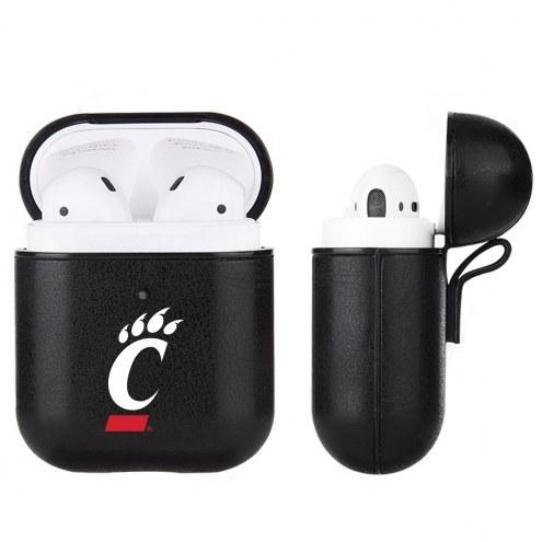 Cincinnati Bearcats Fan Brander Apple Air Pods Leather Case