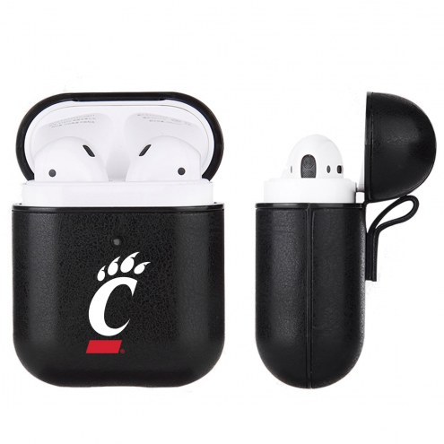 Cincinnati Bearcats Fan Brander Apple Air Pods Leather Case