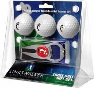 Cincinnati Bearcats Golf Ball Gift Pack with Hat Trick Divot Tool
