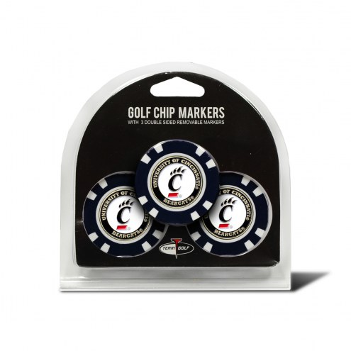Cincinnati Bearcats Golf Chip Ball Markers