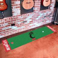 Cincinnati Bearcats Golf Putting Green Mat