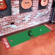 Cincinnati Bearcats Golf Putting Green Mat