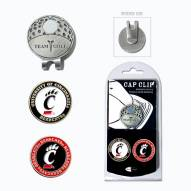 Cincinnati Bearcats Hat Clip & Marker Set