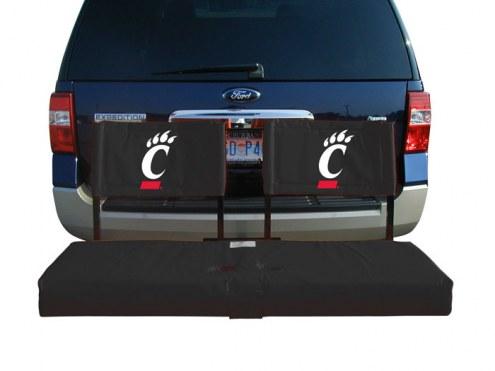 Cincinnati Bearcats Tailgate Hitch Seat/Cargo Carrier