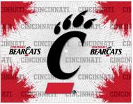 Cincinnati Bearcats Logo Canvas Print