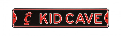Cincinnati Bearcats Kid Cave Street Sign