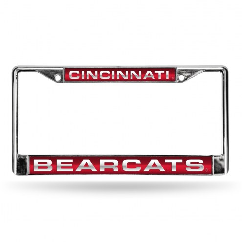 Cincinnati Bearcats Laser Chrome License Plate Frame