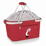 Cincinnati Bearcats Red Metro Picnic Basket