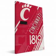 Cincinnati Bearcats Retro Canvas Print
