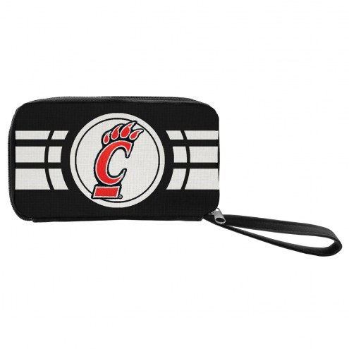 Cincinnati Bearcats Ripple Zip Wallet