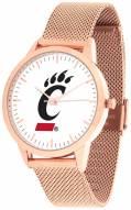 Cincinnati Bearcats Rose Mesh Statement Watch
