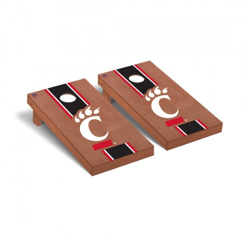 Cincinnati Bearcats Rosewood Stained Cornhole Game Set