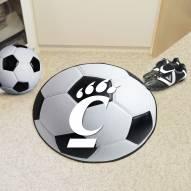 Cincinnati Bearcats Soccer Ball Mat