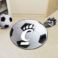 Cincinnati Bearcats Soccer Ball Mat