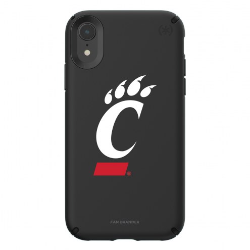 Cincinnati Bearcats Speck iPhone XR Presidio Pro Black Case