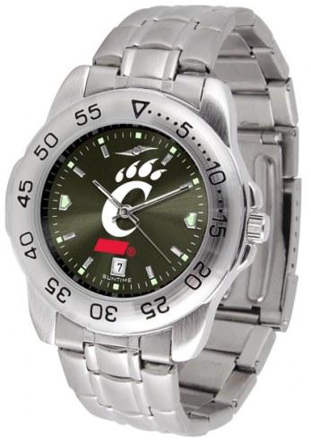 Cincinnati Bearcats Sport Steel AnoChrome Men's Watch